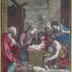 Nicolas-Jean-Baptiste Poilly, Adorazione dei pastori (da Guido Reni), 1734-1773