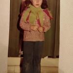 A 5 anni, recita all'asilo