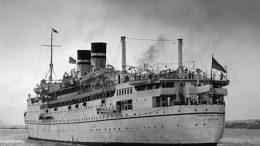 La nave britannica Arandona Star affondata il 2 luglio 1940