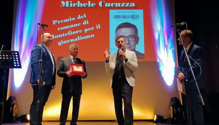 Michele Cucuzza al Premio Letterario Montefiore Conca