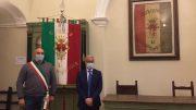 Il Sindaco Filippo Sica con il Prefetto Forlenza