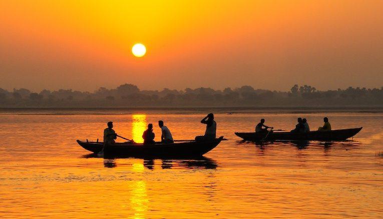 Il fiume Gange, India