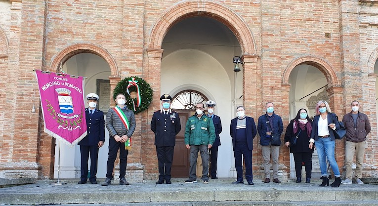 Cerimonia del 2 novembre a Morciano