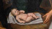 Pietro Confortini. Adorazione dei Pastori. Particolare, Gesù Bambino