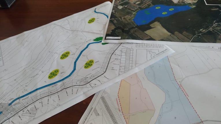 Il progetto sul torrente Ventena