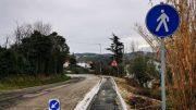 Messa in sicurezza e nuovo percorso pedonale a Serbadone