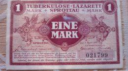 La banconota del lager di Sprottau