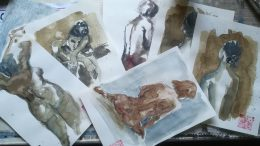 Gli acquerelli di Antonella Spada
